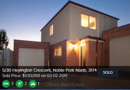 Real Estate Appraisal Noble Park VIC 3174