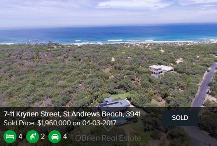 Real estate agents St Andrews Beach Vic 3941
