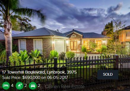 Real estate appraisal Lynbrook VIC 3975