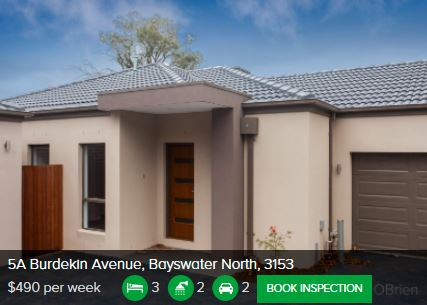 Rental appraisal Bayswater North VIC 3153