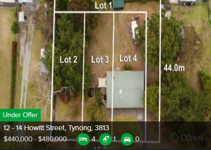 Real estate agents Tynong VIC 3813
