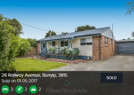 Real estate appraisal Bunyip VIC 3815