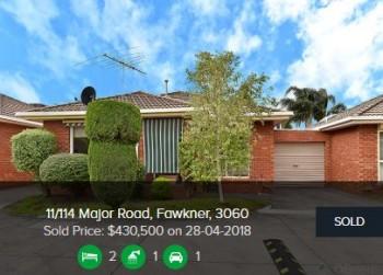 Real estate appraisal Fawkner VIC 3060