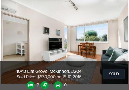 Real estate appraisal McKinnon VIC 3204