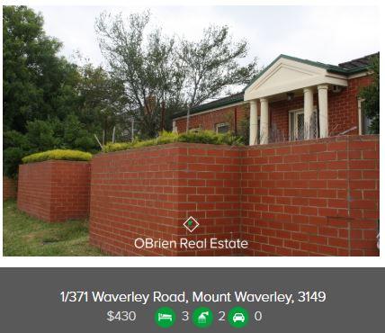Property valuation Glen Waverley 3150