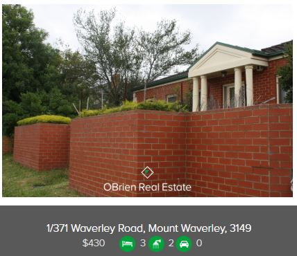 Property valuation Glen Waverley 3150