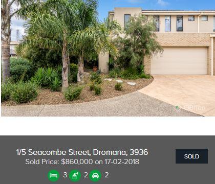 Real estate appraisal Dromana VIC 3936