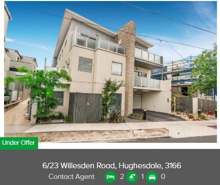 Real estate appraisal Hughesdale VIC 3166