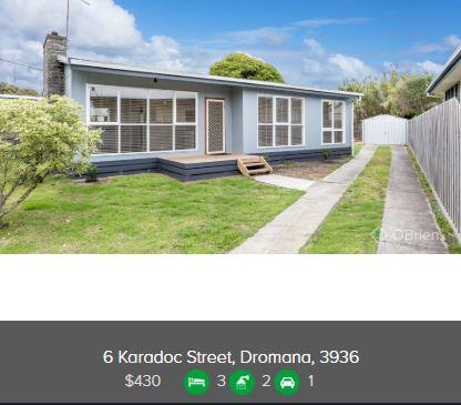 Rental appraisal Dromana VIC 3936