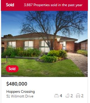 Property valuation Hoppers Crossing VIC 3029