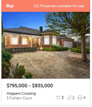 Real estate appraisal Hoppers Crossing VIC 3029