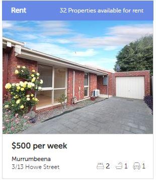 Rental appraisal Murrumbeena VIC 3163