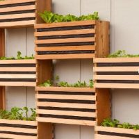 Vertical wall planters Melbourne