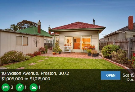 Real estate appraisal Preston VIC 3072