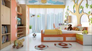Decorating kids bedroom