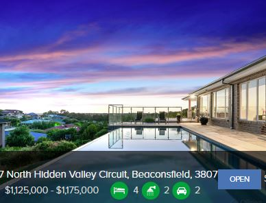 Property valuation Beaconsfield VIC 3807
