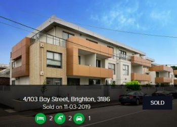 Property valuation Brighton VIC 3186