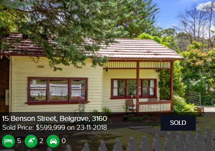 Real estate agents Belgrave VIC 3160
