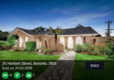 Real estate agents Boronia VIC 3155