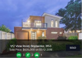 Real estate appraisal Bayswater VIC 3153