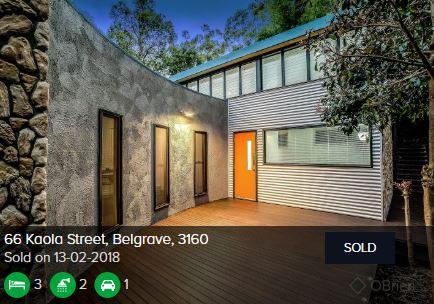 Real estate appraisal Belgrave VIC 3160
