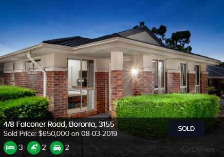Real estate appraisal Boronia VIC 3155