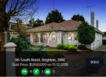 Real estate appraisal Brighton Victoria 3186