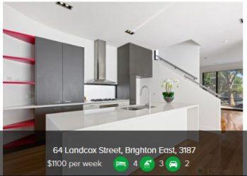 Rental appraisal Brighton East VIC 3187