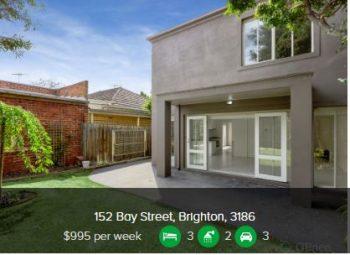 Rental appraisal Brighton Vic 3186