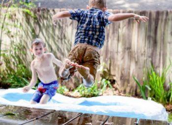Make your backyard safer