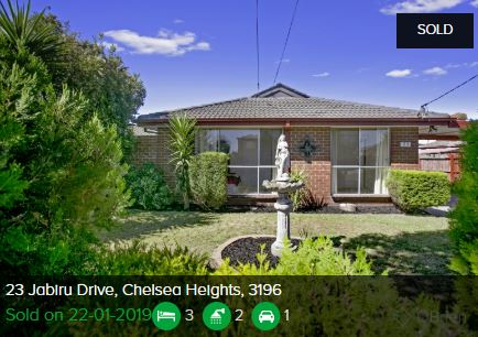 Property valuation Chelsea Heights VIC 3196