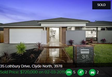 Property valuation Clyde North VIC 3978