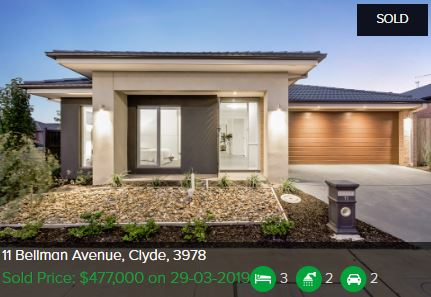 Property valuation Clyde VIC 3978