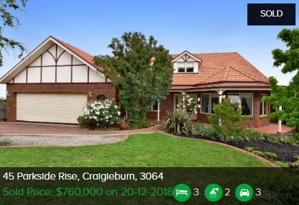 Property valuation Craigieburn VIC 3064