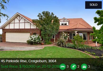 Property valuation Craigieburn VIC 3064