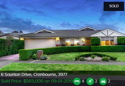 Property valuation Cranbourne VIC 3977