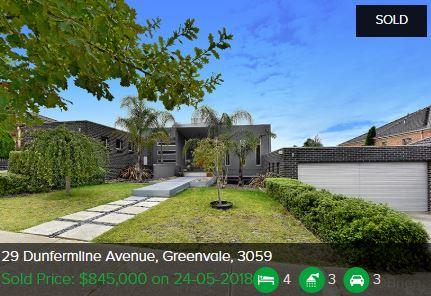 Property valuation Greenvale VIC 3059