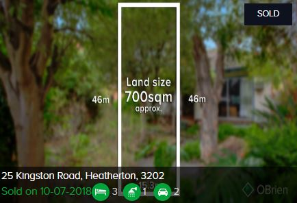 Property valuation Heatherton VIC 3202