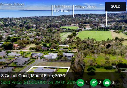 Property valuation Mount Eliza VIC 3930