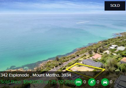 Property valuation Mount Martha VIC 3934