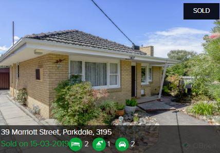 Property valuation Parkdale VIC 3195