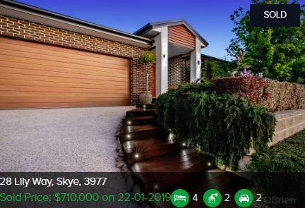 Property valuation Skye VIC 3977