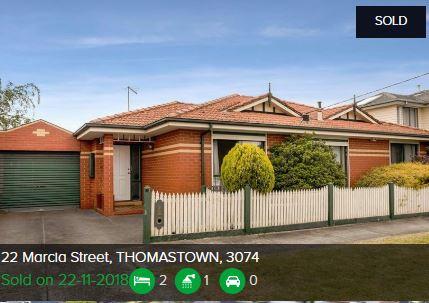 Property valuation Thomastown VIC 3074