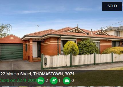 Property valuation Thomastown VIC 3074