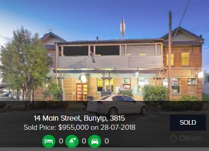 Real estate agents Bunyip VIC 3815