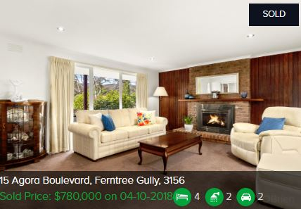 Real estate agents Ferntree Gully VIC 3156