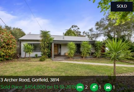 Real estate agents Garfield VIC 3814