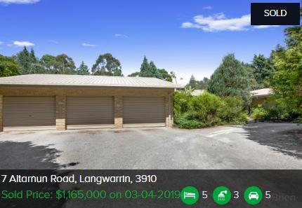 Real estate agents Langwarrin VIC 3910