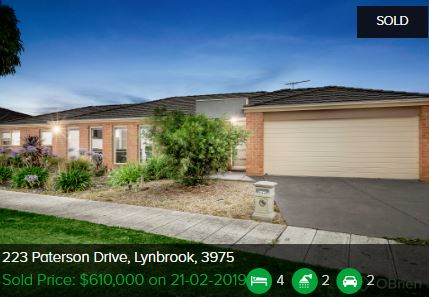Real estate agents Lynbrook VIC 3975