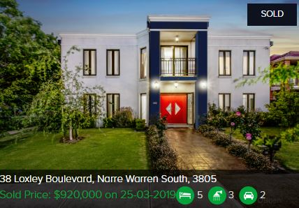 Real estate agents Narre Warren South VIC 3805